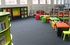 Explore - York Library | Demco Interiors - Inspiring Library Design