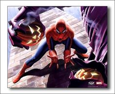 Spider-Man by Alex Ross (this is still one of my favorite Spider-Man images ever)