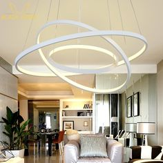 63.78$  Buy now - http://alihgk.worldwells.pw/go.php?t=32754599129 - Modern LED Simple Pendant Lights Lamp For Living Room Cristal Lustre Pendant Lights Pendant Hanging Ceiling Fixtures 63.78$