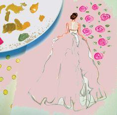 rose and celadon wedding..