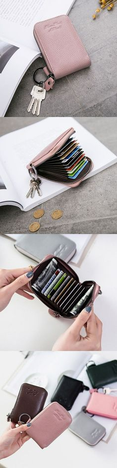 Kleidung & Accessoires Initiative New High Quality Fashion Women Cute Mini Coin Bag Wallet Hand Pouch Purse Black Easy To Lubricate