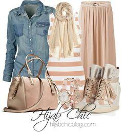 Beautiful casual look