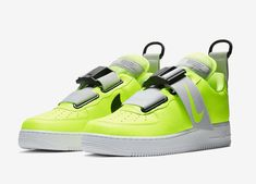 """fbf17a10410f Nike Air Force 1 Utility """"Volt"""" Release Date Nike Air Force Ones"""