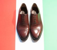 Handmade shoes ,Goodyear construction. Made in Italy