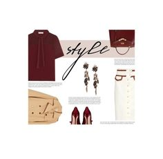 """Untitled #768"" by ivoryt2 ❤ liked on Polyvore featuring Hermès, Ganni, Khaite, Sandro and Salvatore Ferragamo"