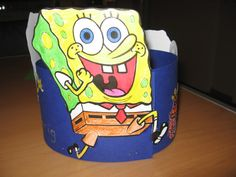 Hoed spongebob.