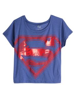 SUPERMAN! I am in love with this shirt!!!