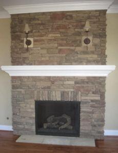 Prefabricated Gas Fireplace