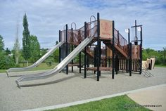 Elgin Ship Playground Climbers, Playground, Ship, Spaces, Street, Children Playground, Ships, Roads, Boat