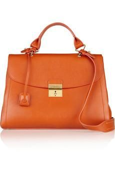 Marc Jacobs 1984 textured-leather...