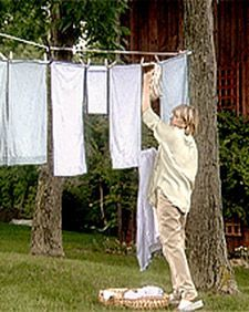 Rigging a Clothesline | Step-by-Step | DIY Craft How To's and Instructions| Martha Stewart