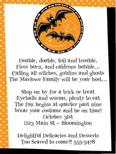 Halloween Invitation Template By Crafty In Crosby  Halloween
