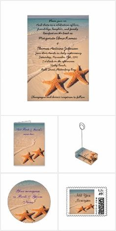 Beach Weddings #Zazzle #BeachWeddings