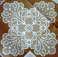 crochet em revista: crochet esquemas