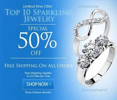 Top 10 50% Off Sparkling Jewelry Check Them Out Here #BuyBlueSteel