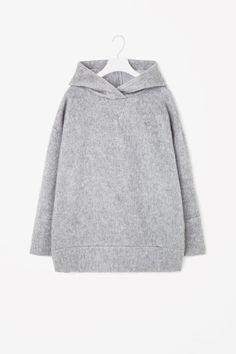 COS+ +Hooded+wool+jumper