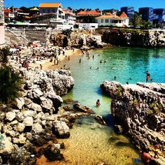 Cascais Portugal Beach- just look at that water!!