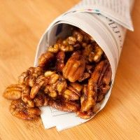 Spiced Nuts for a New Year's Potluck with Emeril #SundaySupper