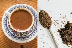 Mitigate the Acidic, Negative Effects of Coffee by Adding This One Ingredient to Your Next Cup by Yelena Sukhoterina | February 27, 2016 -  they add cardamom