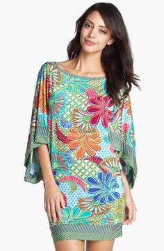 Trina Turk 'Zanzibar' Tunic Cover-Up available at #Nordstrom
