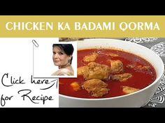 Chicken Ka Badami Qorma by Chef Zubaida Tariq - Handi - YouTube