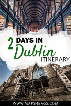 Dublin is a lively city that breaths culture and stunning architecture. Among castles and medieval constructions, the pubs take the scene and offer an authentic Irish experience. But before you go explore it, check out this itinerary with the best things to do in 2 days in Dublin including day trips. Photo Molly Mallone credit: Fred Veenkamp #Dublin #Ireland #Europe #travel #templebar