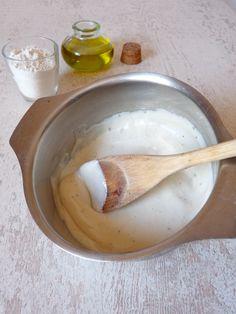 béchamel sans gluten, huile végétale, farine de riz et lait de riz + variantes Qui dit gratin, lasagnes sans gluten ou endives au jambon dit ... béchamel sans gluten bien sûr!