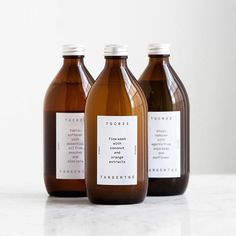 Clover & Crow - Daily inspiration; I'm in love with this packaging design done by Essen. Simplicity at it's finest with these amber bottles and white labels. Sharp ✊ . . . . . #thatsdarling #ladyboss #adobe #inspo #typeography #creativelifehappy #freelancelife #branddesign #minimal #packagedesign #adobe #inspiration #graphicdesign #customdesign #designstudio #designlife #instadaily #winnipeg #wpg