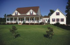 House Plan 92457 | Country Farmhouse Plan with 2972 Sq. Ft., 4 Bedrooms, 4 Bathrooms, 3 Car Garage at family home plans