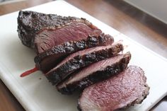 Recept voor de bereiding van picanha, ook wel staartstuk genoemd, op de barbecue.
