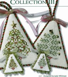 Christmas Tree Collection III - Cross Stitch Pattern