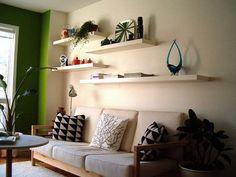 Explore 15 Modelos criativos para Decoração de Salas pequenas e inspire-se para fazer a decoração da sala em sua casa, oferecendo um ambiente confortável.