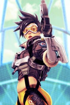Get the hell out of house punk tracer jurikoi