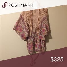 Desert Rose Kimono Perfect condition and comes with the tie. Spell & The Gypsy Collective Other
