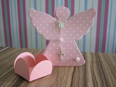 Baptism Cookies, Baptism Favors, Baptism Gifts, Belly Casting, Paper Angel, Diy And Crafts, Paper Crafts, Baby Shower, First Communion