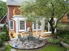Small Deck Patio; Would Prefer A Curved Shape | Deck | Pinterest | Small Deck  Patio, Deck Patio And Decking