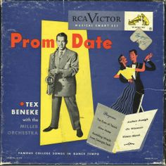 45 EP - 3 RECORD SET - TEX BENEKE - PROM DATE #Vocal