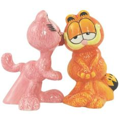 Westland Giftware Garfield Magnetic Arlene Kissing Garfield Salt and Pepper Shaker Set, 4-Inch by Westland Giftware. $13.99. Functional. High quality. Magnetic insert to keep shakers together. Material: ceramic. Fun and cute styling. Westland Giftware Garfield Magnetic Arlene Kissing Garfield Salt and Pepper Shaker Set, 4-inch. Shakers feature magnetic insert for display together.