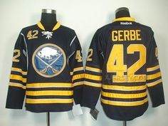http://www.xjersey.com/sabres-42-gerbe-dark-blue-jerseys.html SABRES 42 GERBE DARK BLUE JERSEYS Only $46.00 , Free Shipping!