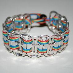 Soda tab bracelet....FOR LANE'S CRAFT SHOP!