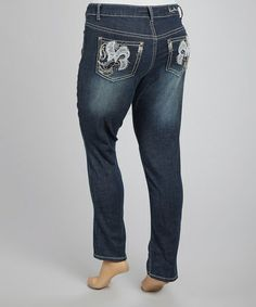 Take a look at this Destiny Skinny Jeans - Plus by Royal Premium on #zulily today!