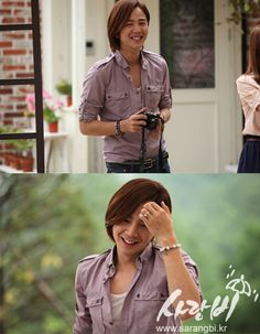 JKS   JGS playing as Seo Joon in drama called: Love Rain.