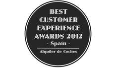 Best Customer Experience Awards, Spain 2012, Categoria Alquiler de Coches