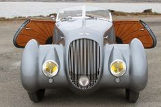 1936 Bentley 4 ¼ Litre Roadster by Chalmers and Gathings