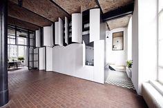 Creative storage area. Sauspiel office Berlin Germany. [1280x852] http://ift.tt/2iApyGb