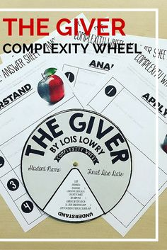 literary analysis the giver The giver chapters quotes - the giver by lois lowry quotes.