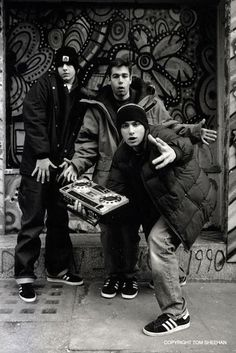 Beastie Boys – Probably the single most influential people in my musical life. Beastie Boys – Probably the single most influential people in my musical life. Beastie Boys, Hip Hop And R&b, Hip Hop Rap, Music Is Life, My Music, Hiphop, Jamel Shabazz, It Icons, Grunge