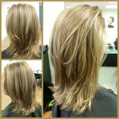 Tritonal color highlight, cut, layer, blowout