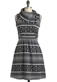 Coach Tour Dress in Winter, #ModCloth
