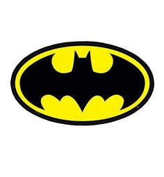 Batman Symbol Sticker